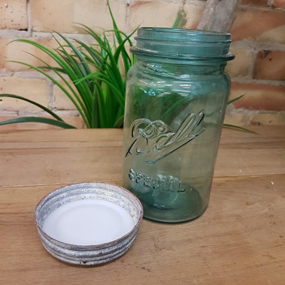 Genuine Agee/Ball Preserving Jar w Lid