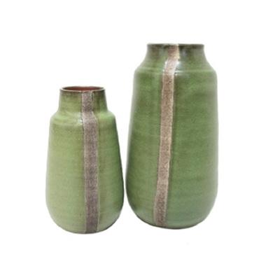 Gerda Ceramic Vase - Pale Green