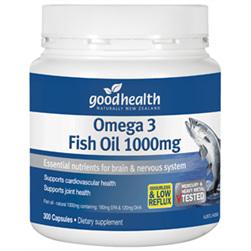 GH Omega 3 Fish Oil 400 Caps