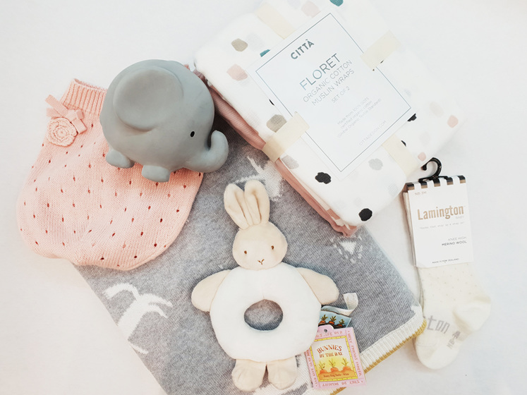 Gifts for baby, Citta, Lamington, Bunnies by the bay