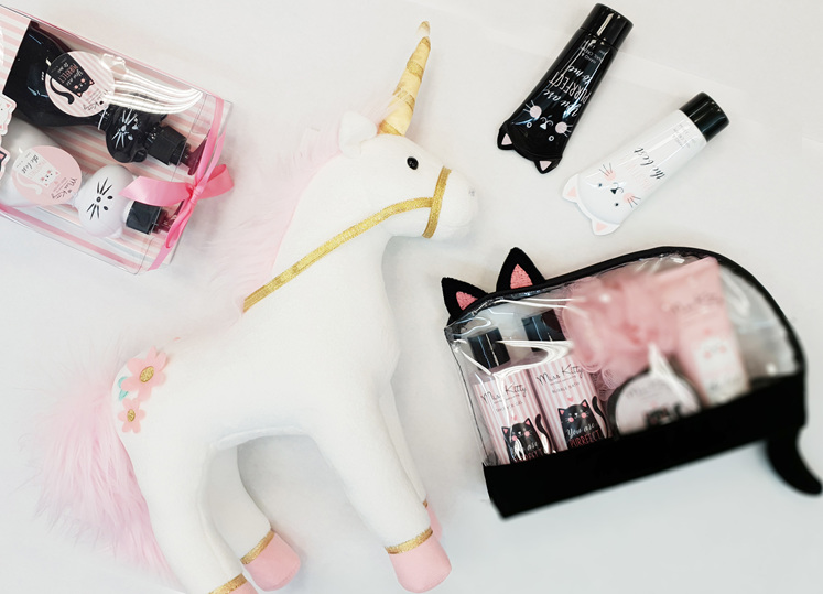 Gifts for girls - unicorns and cats