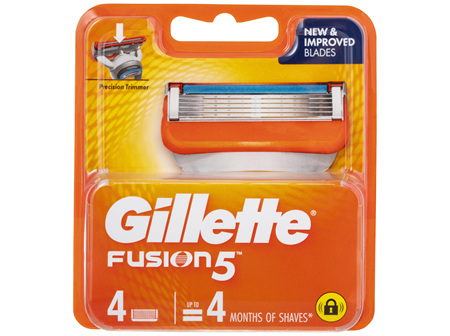 Gillette Fusion5 Cartridges 4 Pack