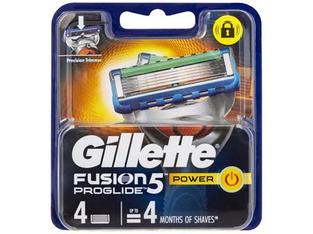 Gillette Fusion5 ProGlide Power Cartridges 4 Pack