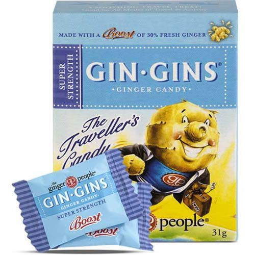 Gin 98112 Super Strength Travel 12X31Gm