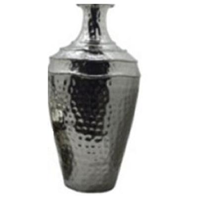 Gina Metal Vase - Nickel/Tall