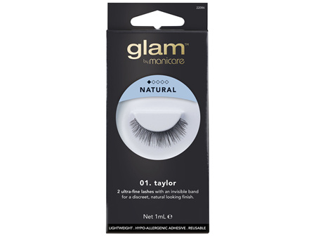 Glam By Manicare 01. Taylor Lashes