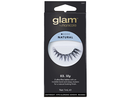 Glam By Manicare 03. Lily Lashes