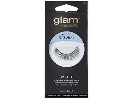 Glam By Manicare 04. Elle Lashes