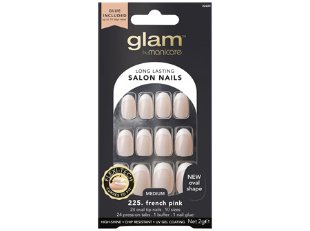 Glam By Manicare 225. French Oval Nails