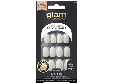 Glam By Manicare 231. Basic Oval Nails