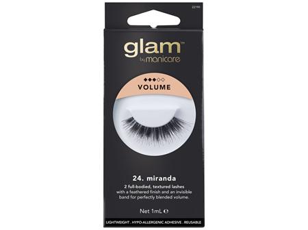 Glam By Manicare 24. Miranda Lashes