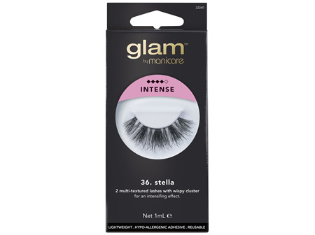 Glam By Manicare 36. Stella Lashes