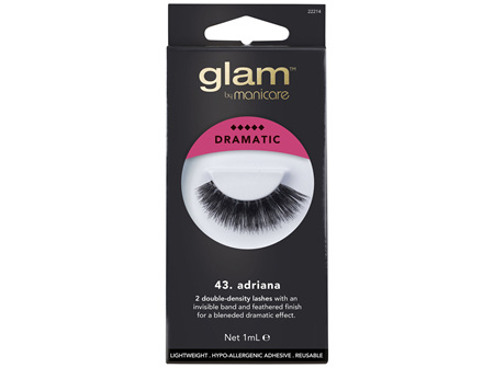 Glam By Manicare 43. Adriana Lashes