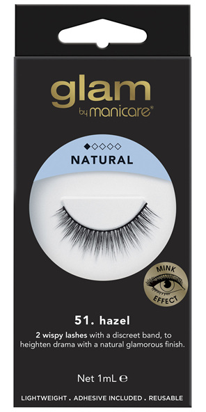 Glam By Manicare 51. Hazel Mink Effect Lashes