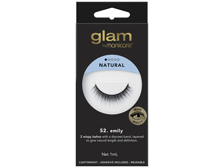 Glam By Manicare 52. Emily Mink Effect Lashes