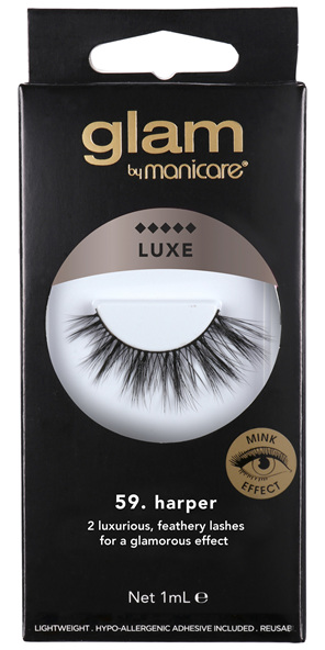 Glam By Manicare 59. Harper Luxe Lashes