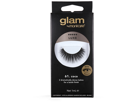 Glam By Manicare 60. Coco Luxe Lashes