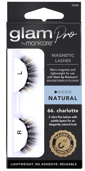 Glam by Manicare 66. Charlotte Magnetic Lashes