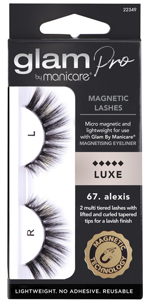 Glam by Manicare 67. Alexis Magnetic Lashes