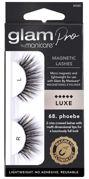 Glam by Manicare 68. Phoebe Magnetic Lashes