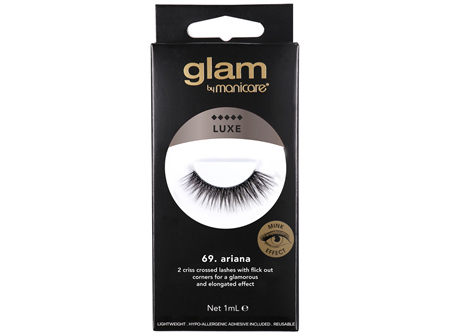 Glam by Manicare 69. Ariana Luxe Lashes