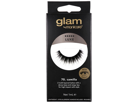 Glam by Manicare 70. Camilla Luxe Lashes