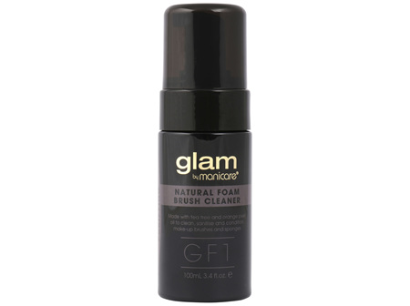 Glam by Manicare GF1 Purifying Foam Brush Cleanser 100mL