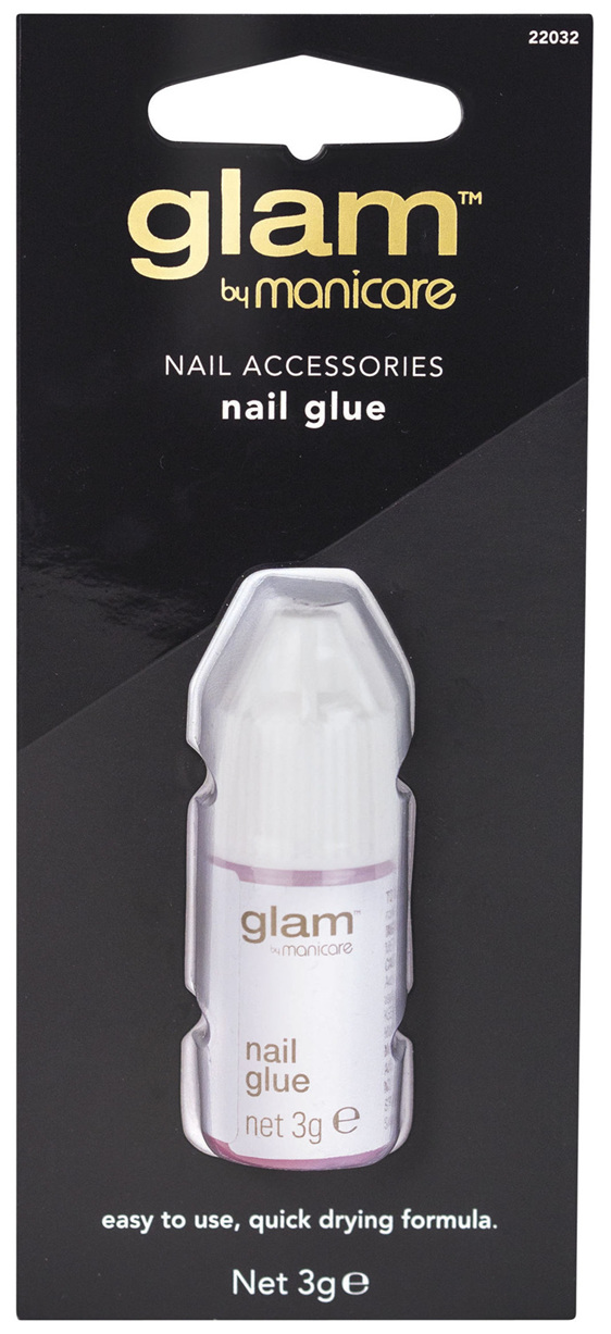 Glam By Manicare Nail Glue 3g