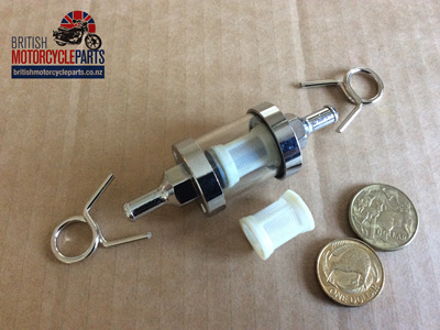 WWPET005 Glass Fuel Filter
