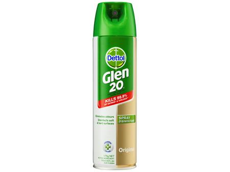 Glen 20 All In One Disinfectant Spray Original 175g