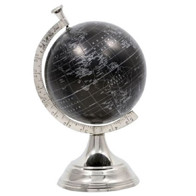 Globe 8' - Black/Silver