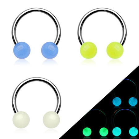 Glow In The Dark Circular Barbell