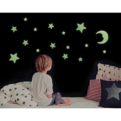 Glow in the Dark Stars & Moons