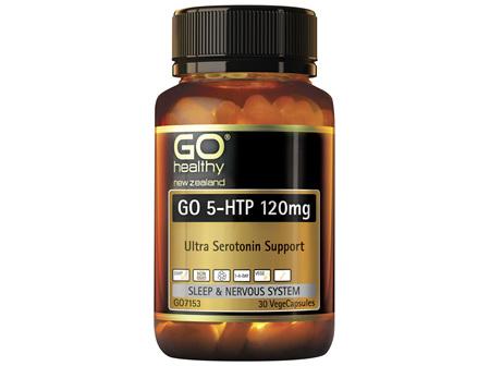 GO 5-HTP 120mg 30 VCaps