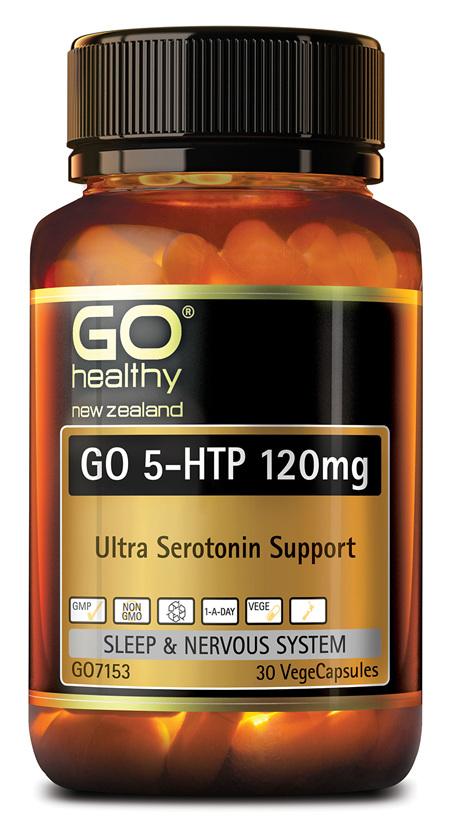 GO 5-HTP 120MG - ULTRA SEROTONIN SUPPORT (30 VCAPS)