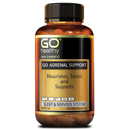 GO Adrenal Support 120vcaps