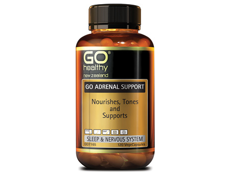GO ADRENAL SUPPORT - Nourishes, Tones and Supports (120 Vcaps)