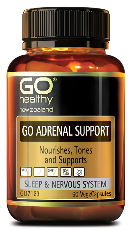 GO ADRENAL SUPPORT - Nourishes, Tones and Supports (60 Vcaps)