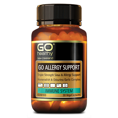 GO Allergy Support 30vcaps