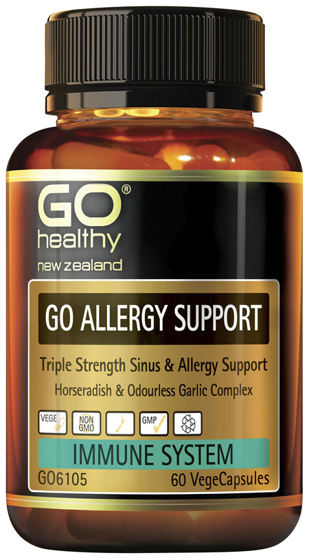 GO Allergy Support 60 VCaps