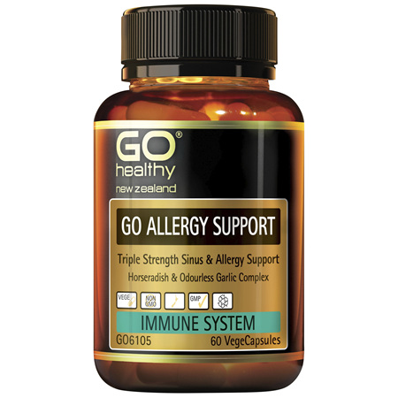 GO Allergy Support 60vcaps