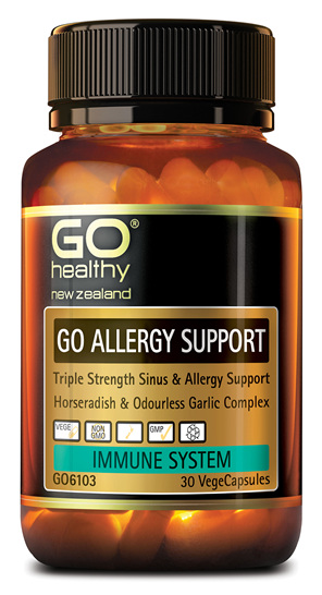 GO ALLERGY SUPPORT - Triple Strength Sinus & Allergy Support (30 Vcaps)