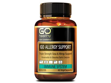GO ALLERGY SUPPORT - TRIPLE STRENGTH SINUS & ALLERGY SUPPORT (60 VCAPS)