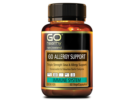 GO ALLERGY SUPPORT - Triple Strength Sinus & Allergy Support (60 Vcaps)