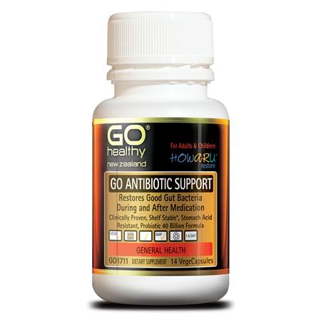 GO Antibiotic Support Probiotic 40Billion 14s