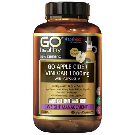 GO Apple Cider Vinegar wCapsi-Slim 60s