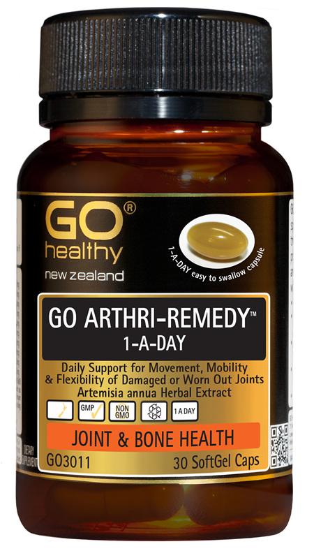 GO ARTHRI-REMEDY™ 1-A-DAY - Daily Support for Movement (30 caps)