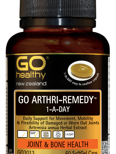 GO ARTHRI-REMEDY™ 1-A-DAY - Daily Support for Movement (60 caps)