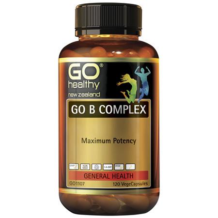 GO B Complex 120vcaps