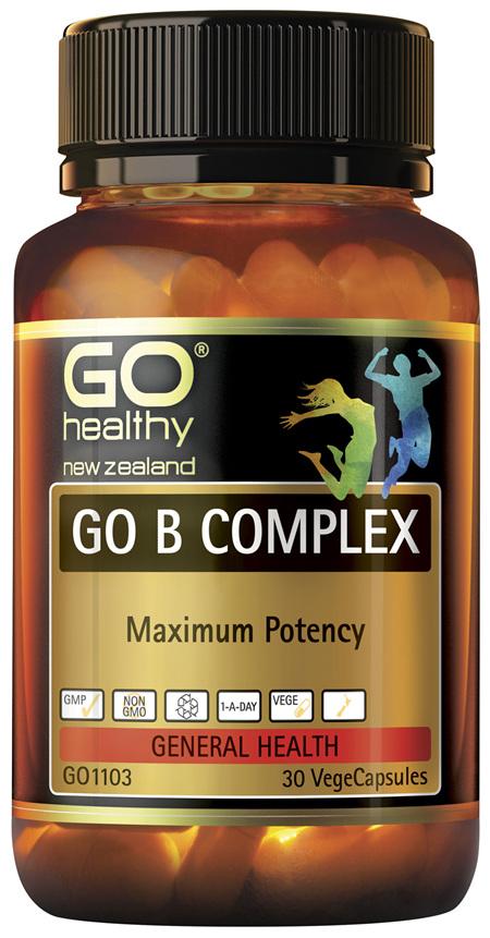 GO B Complex 30 VCaps